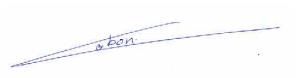 Signature maxime
