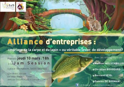jeudi 10 mars plénière Alliance d'entreprises